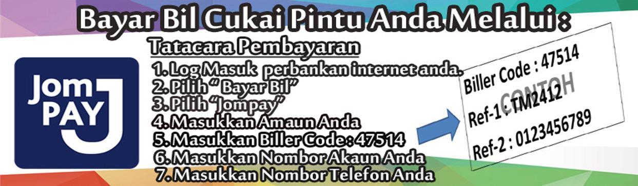 Pembayaran Cukai Taksiran Secara Online Jompay Portal Rasmi Majlis Daerah Pasir Puteh Mdpp